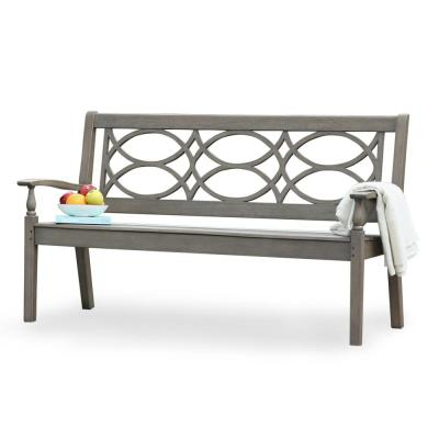 Lyon Solid Wood Outdoor Bench