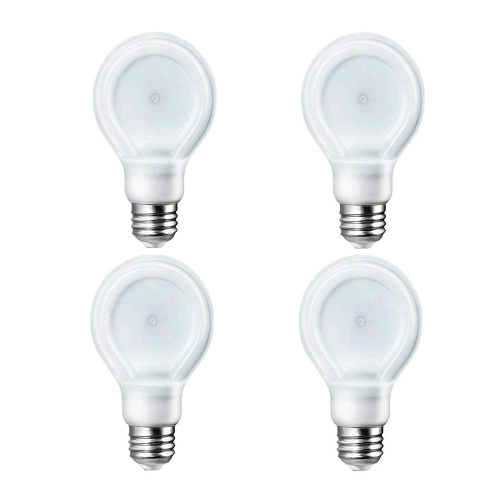 Philips Philips SlimStyle 60W Equivalent Soft White (2700K) A19 LED Light Bulbs (4-Pack)