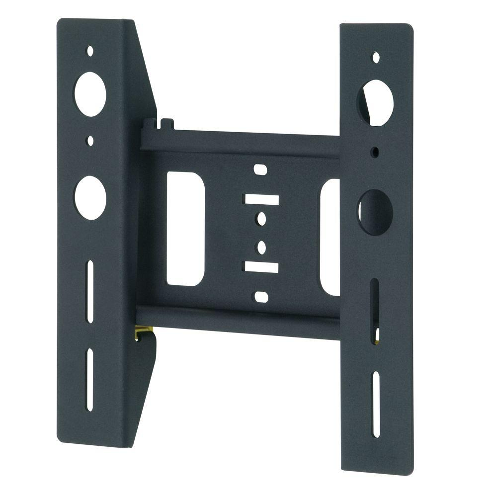 avf eco mount flat to wall tv mount for 0 39 in flat panel tvs el200b a the home depot. Black Bedroom Furniture Sets. Home Design Ideas