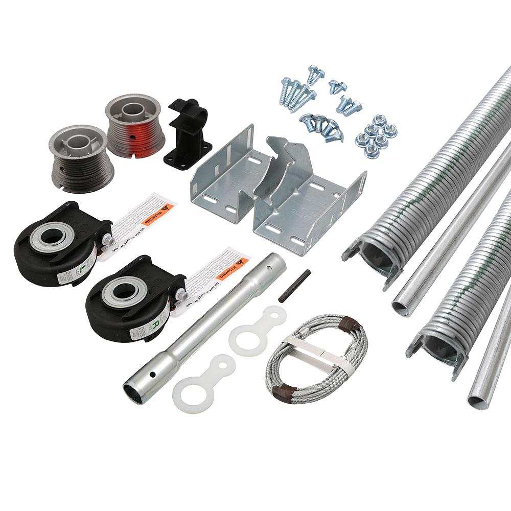 ezset torsion conversion kit for 16 ft x 7 ft garage doors