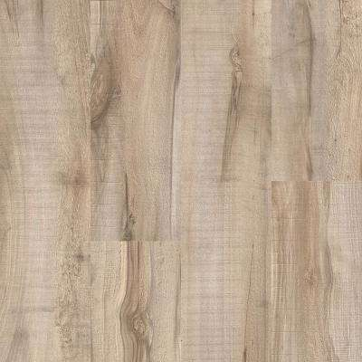 Take Home Sample - Antique Lumber Beige and Grey Click Vinyl Plank - 4 in. x 4 in.