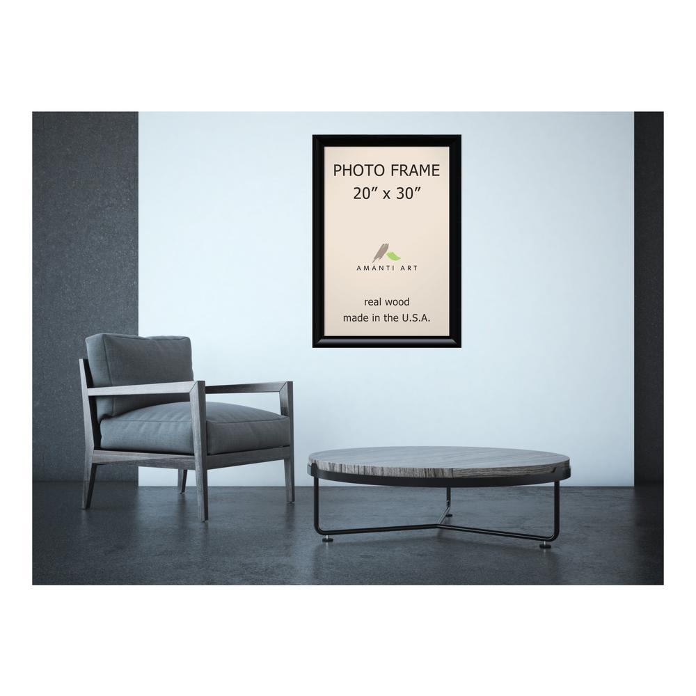 Amanti Art Steinway 20 In X 30 In Black Picture Frame Dsw1385342