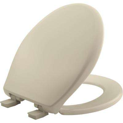 Affinity Round Closed Front Toilet Seat in Bone