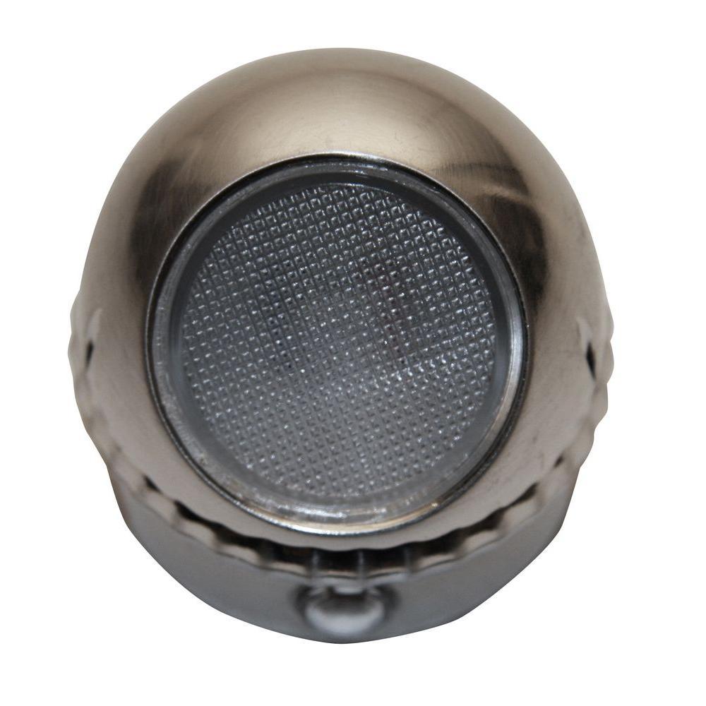 Meridian Rotating Spot LED Night Light - Brushed Nickel