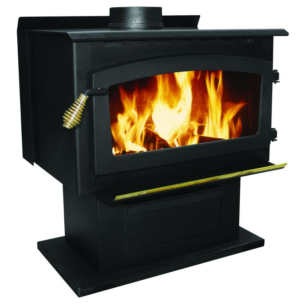 2000 sq. ft. King 89,000 BTU EPA Certified Wood Stove with