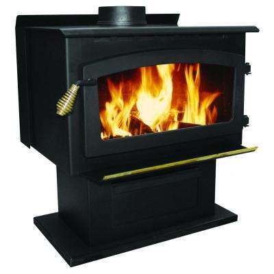 2000 sq. ft. King 89,000 BTU EPA Certified Wood Stove with Blower