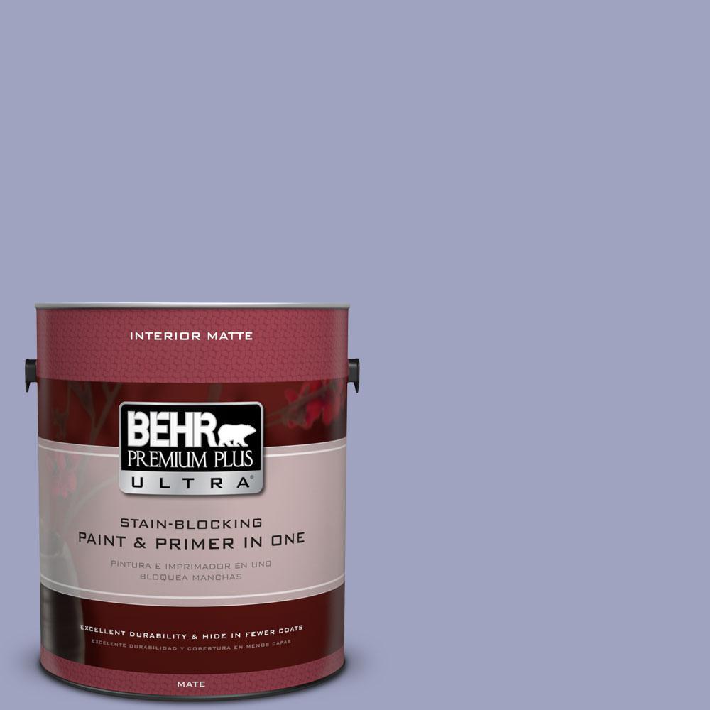 1 gal. #620D-4 Veranda Iris Flat/Matte Interior Paint