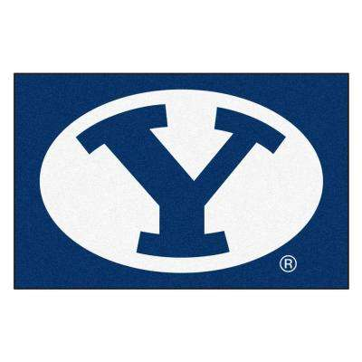 Brigham Young University 19 in. x 30 in. Accent Rug