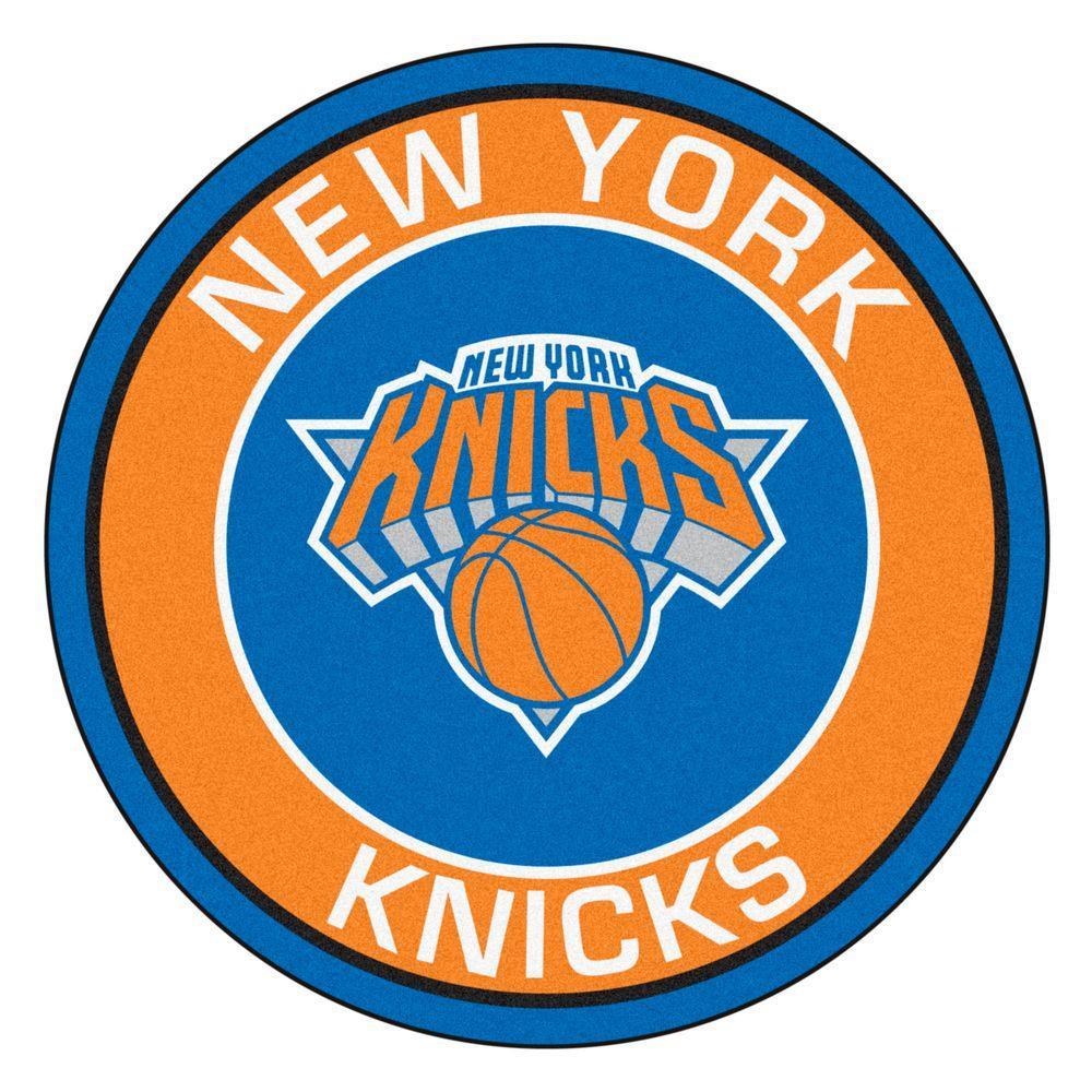FANMATS NBA New York Knicks Orange 2 Ft. 3 In. X 2 Ft. 3