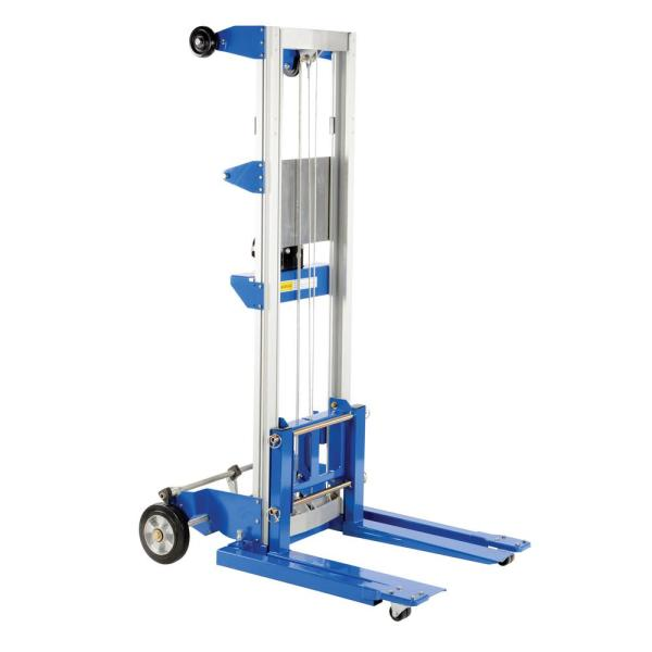 400 lbs. Winch Lift Truck Adjust Straddle