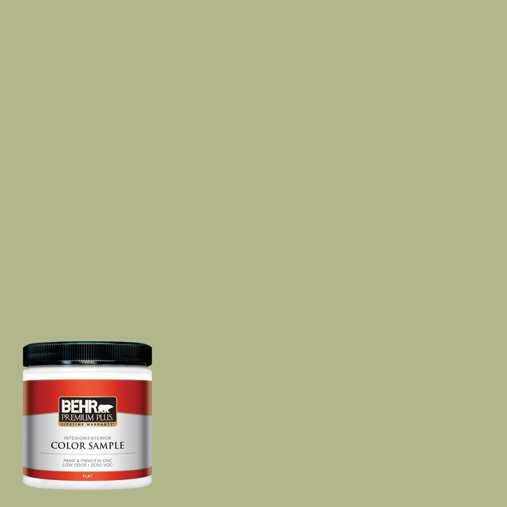 8 oz. #M350-4 Sweet Grass Interior/Exterior Paint Sample