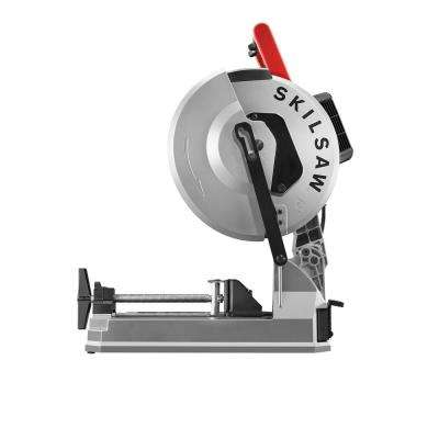 12 in. 15 Amp Corded Electric Dry Cut Saw for Metal Cutting with Diablo 60-Tooth Cermet-Tipped Carbide Blade