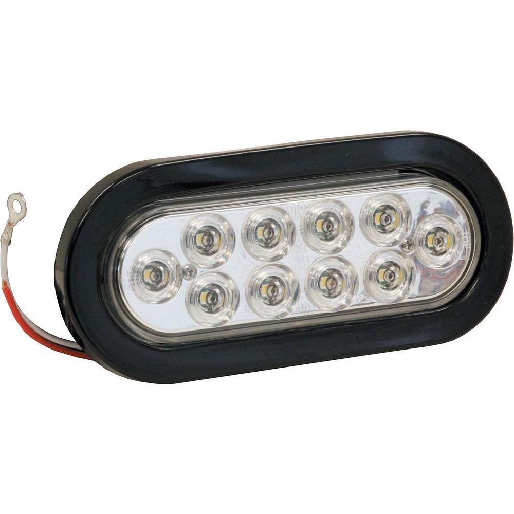 6 in. Oval Backup Light Kit 10 LED
