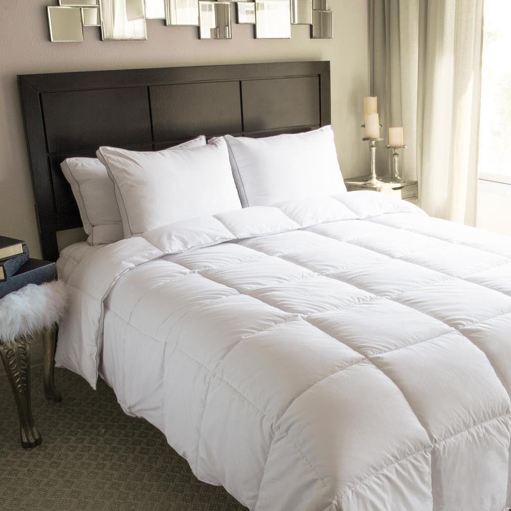 White Twin Down Alternative Comforter