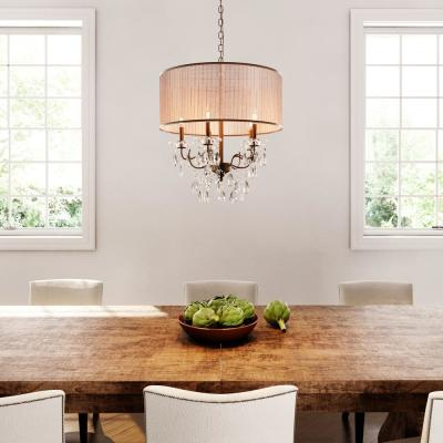Scott 5-Light Antique Bronze Chandelier with Shade