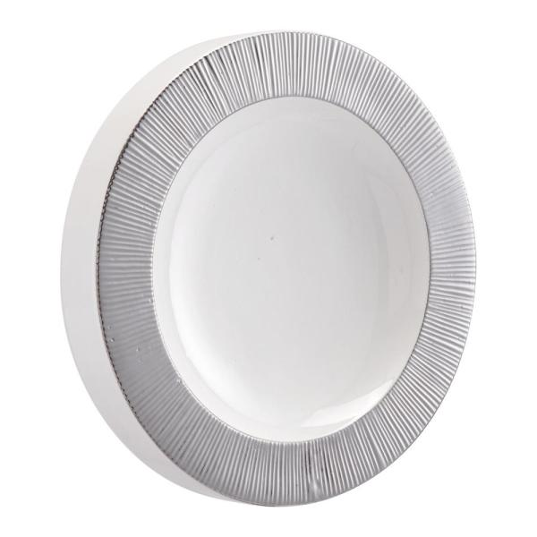 Zuo Modern Plato Silver And White Large Wall Decor A11342 The Home