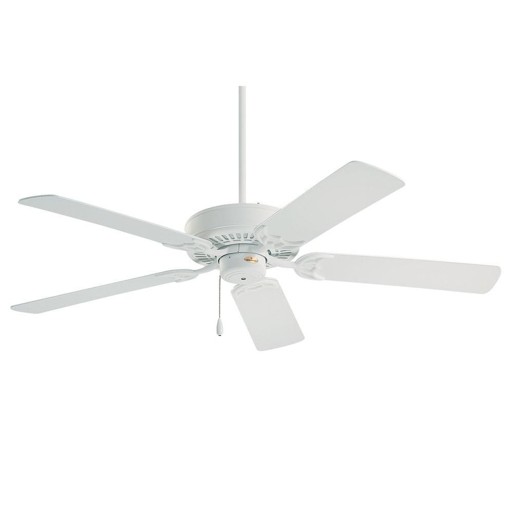 Illumine Zephyr 52 in. Chalk Indoor Ceiling Fan
