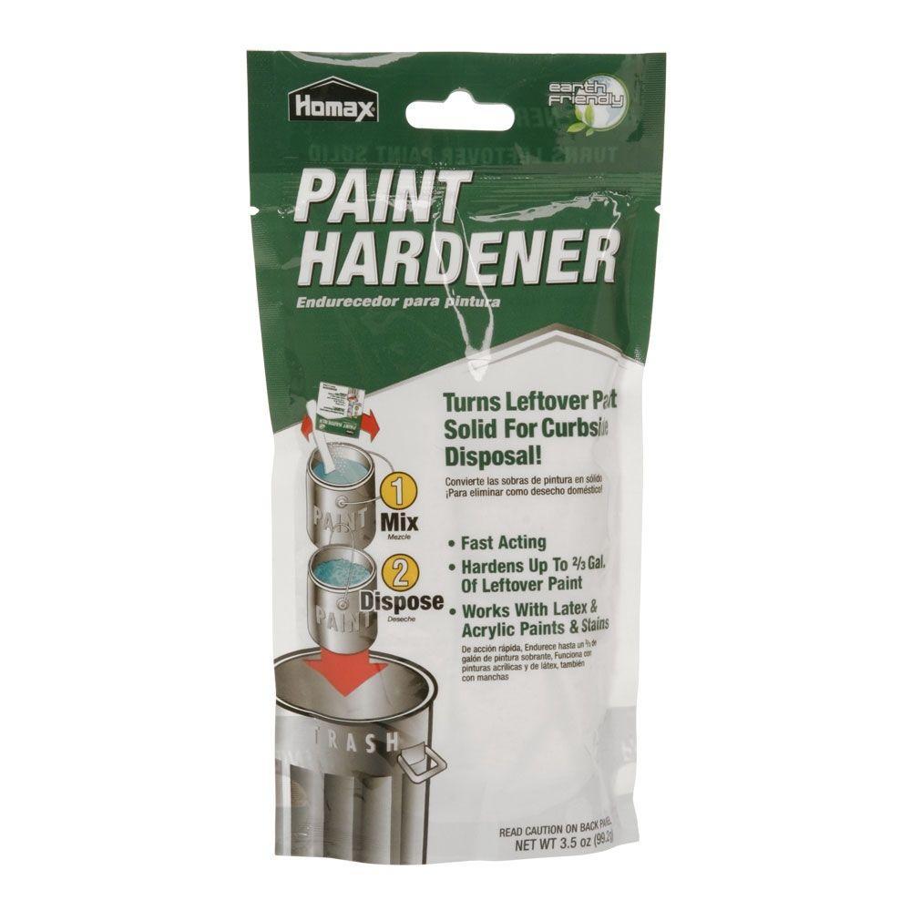 Home depot paint hardener