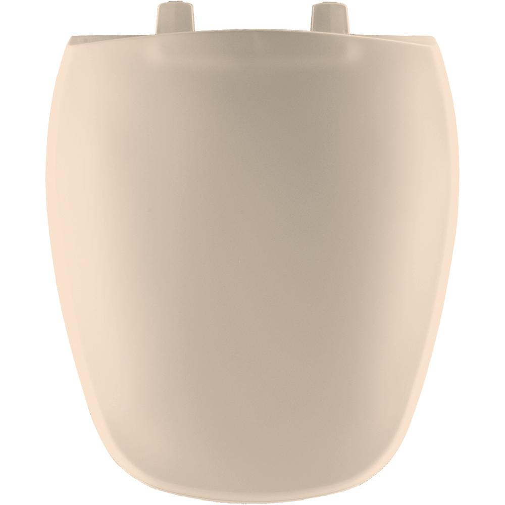 Round Closed Front Toilet Seat in Natural