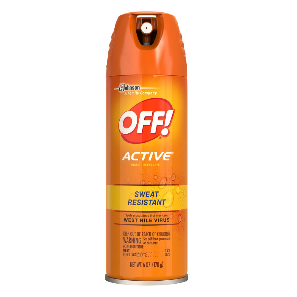 6 oz. Active Insect Repellent Aerosol Spray