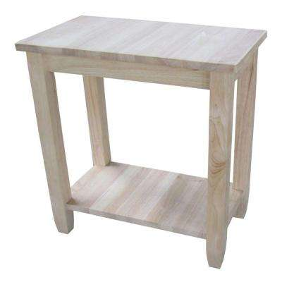 Solano Unfinished Console Table