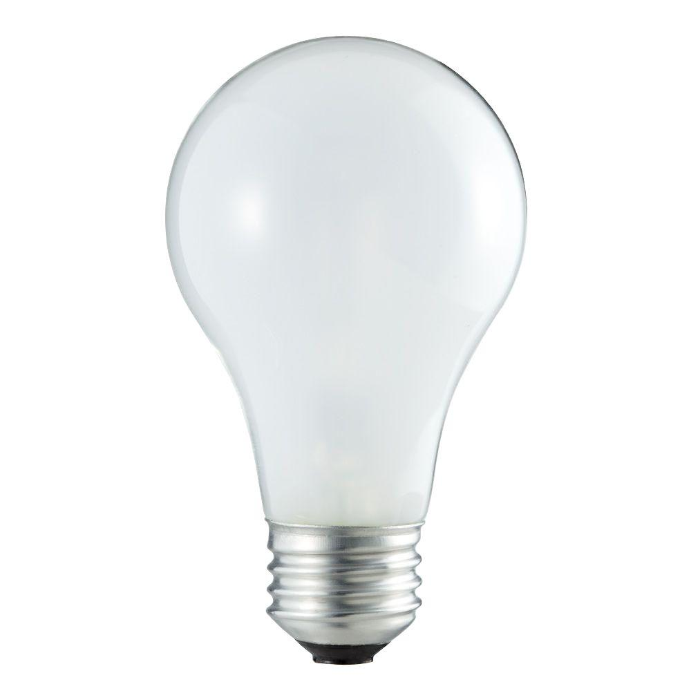 Philips 60w Equivalent Eco Incandescent A19 Soft White Light Bulb 24 Pack 409847 The Home Depot