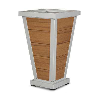 Pyramid 18 in. 5-Board Plastic Planter
