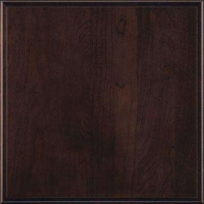 14.5x14.5 in. Cabinet Door Sample in Marquis Teaberry