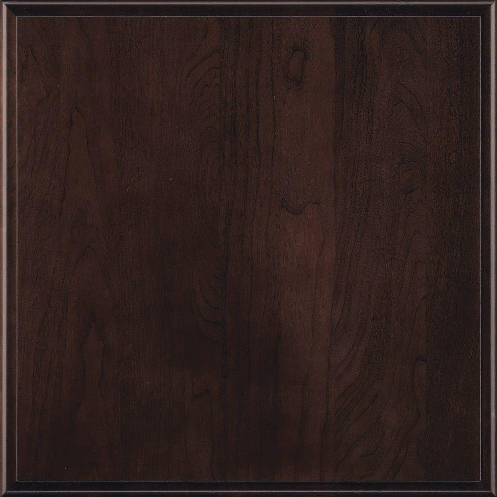 Thomasville Artisan 14.5x14.5 in. Cabinet Door Sample in Marquis Cherry Teaberry