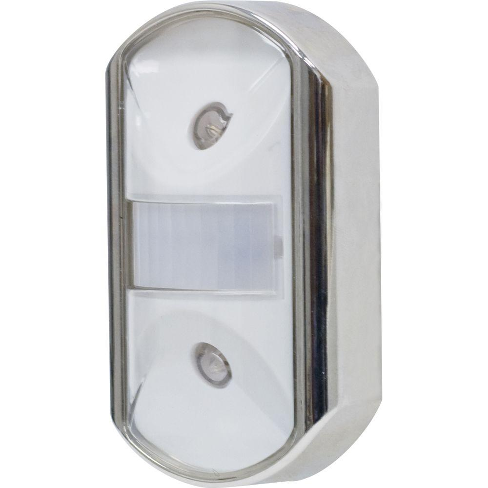 GE Chrome Motion-Activated LED Night Light-11242