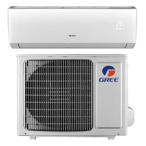 N LIVO 9,000 BTU 3/4 Ton Ductless Mini Split Air Conditioner with Inverter, Heat, Remote 115V/60Hz by N