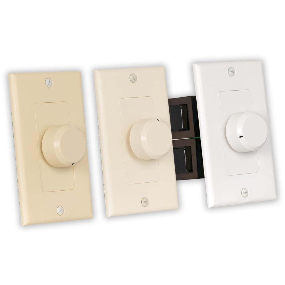Indoor Speaker Volume Control 3 Color Dial Audio Switch