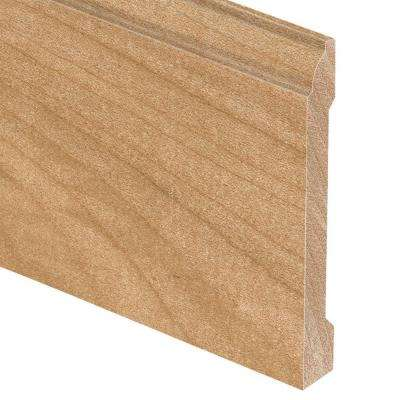 Maple Natural 5/8 in. Thick x 5-1/4 in. Wide x 94 in. Length Hardwood Base Molding