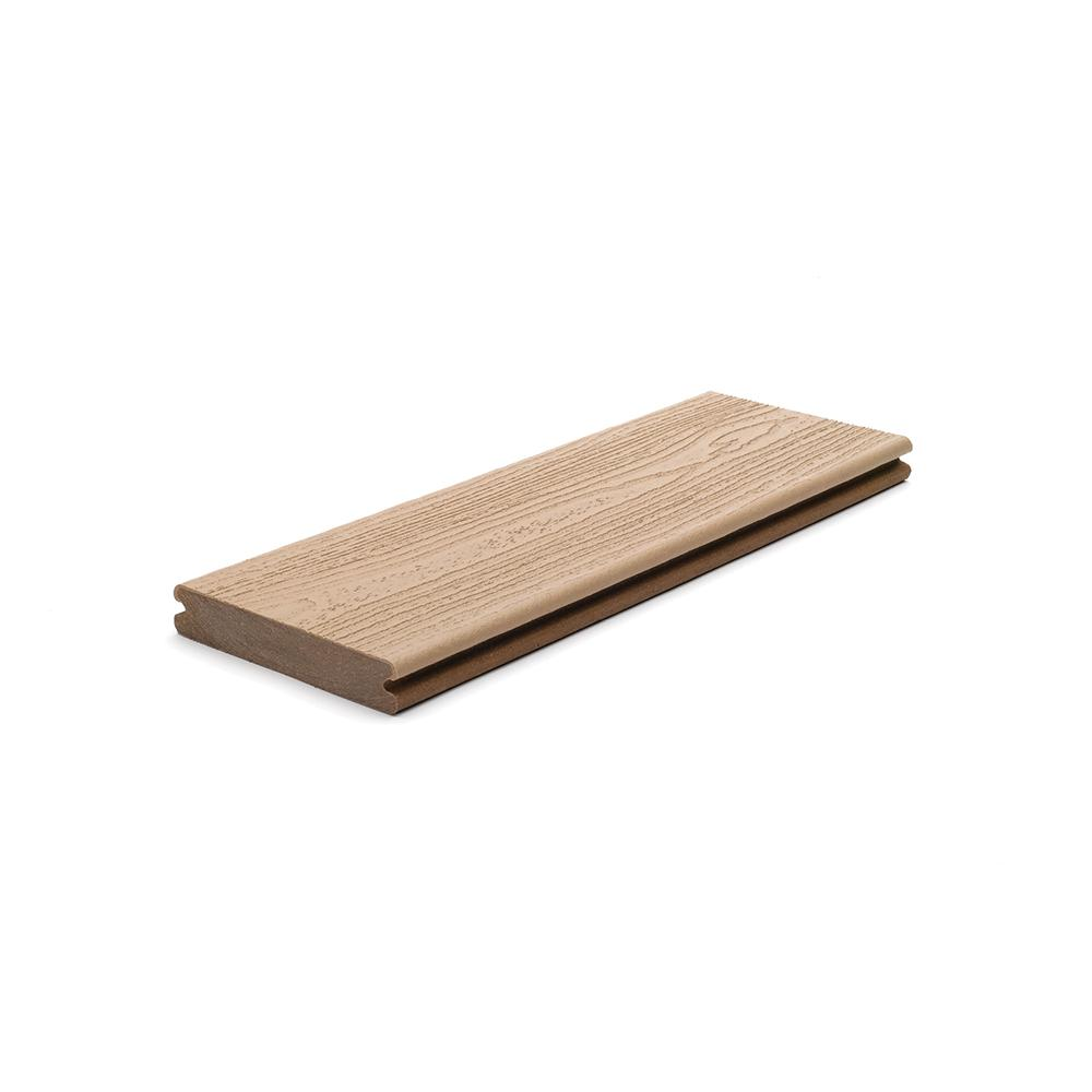Trex Transcend 1 in. x 5.5 in. x 1 ft. Rope Swing Composite Decking Board Sample