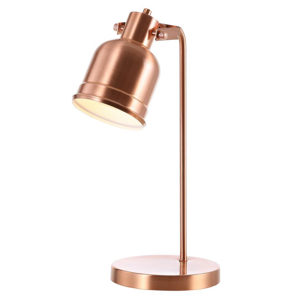 Edgar 18 in. Copper Metal LED Task Lamp