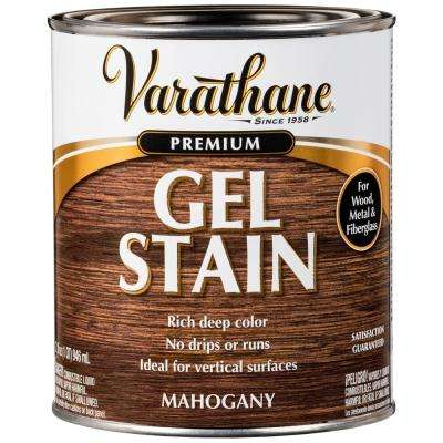 1-qt. Mahogany Wood Interior Gel Stain