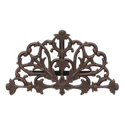 Oil Rubbed Bronze Filigree Hose Holder