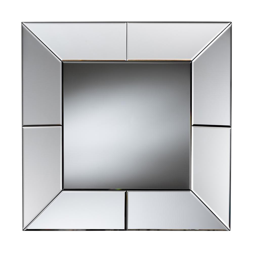 Gerard Square Silver Decorative Wall Mirror
