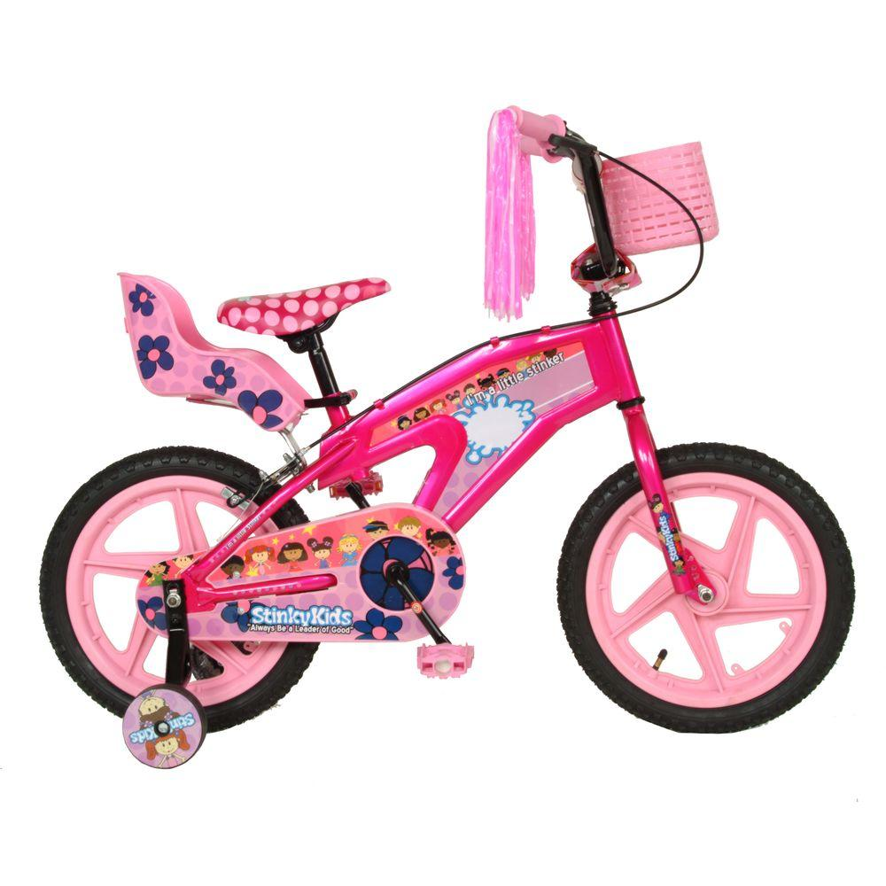 StinkyKids Miss-Behavin Kid's Bike, 16 in. Wheels, 11 in