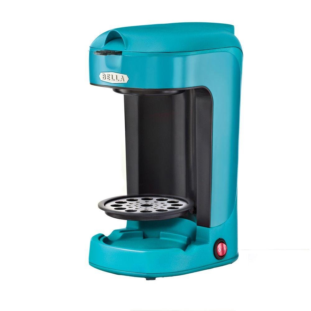 Bella 13.5 oz. Single Brew Coffee Maker in Turquoise