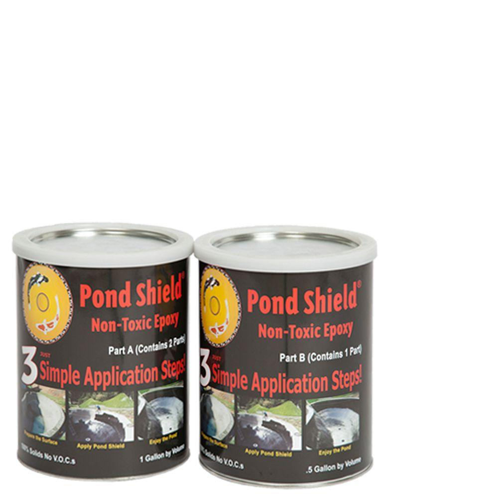 Pond Armor Pond Shield 1 5 Gal Clear Non Toxic Epoxy Sku