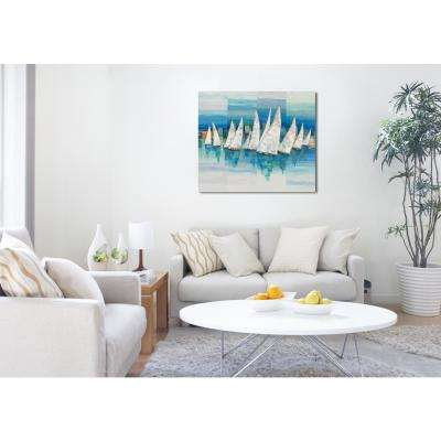 36 in. H x 30 in. W 'SAI - Speculum Oceano' by Oliver Gal Framed Canvas Wall Art