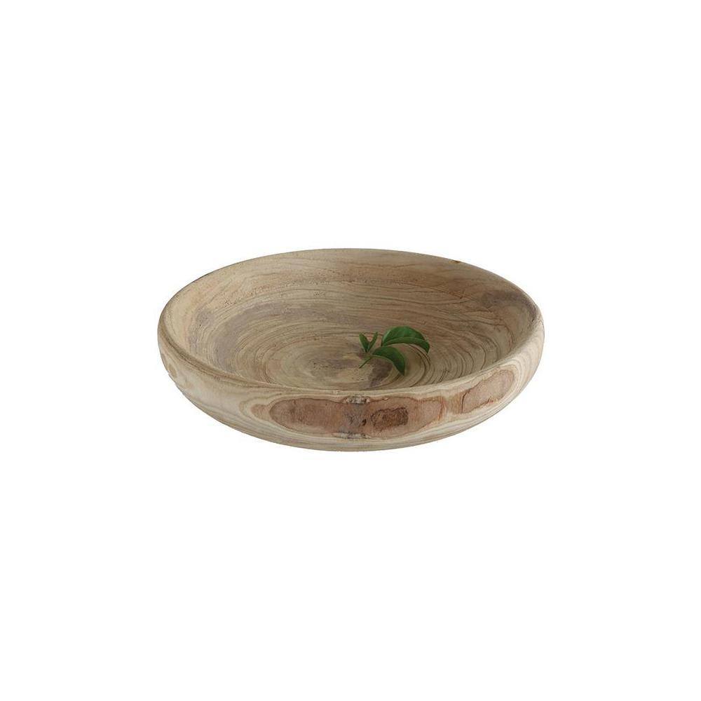 Paulownia Natural Wood Decorative Bowl