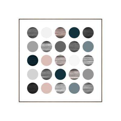 "31.25 in. x 31.25 in. ""Planets I"" by Bobby Berk Printed Framed Wall Art"