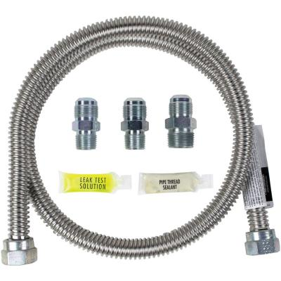 4 ft. Universal Gas Line Connector Kit