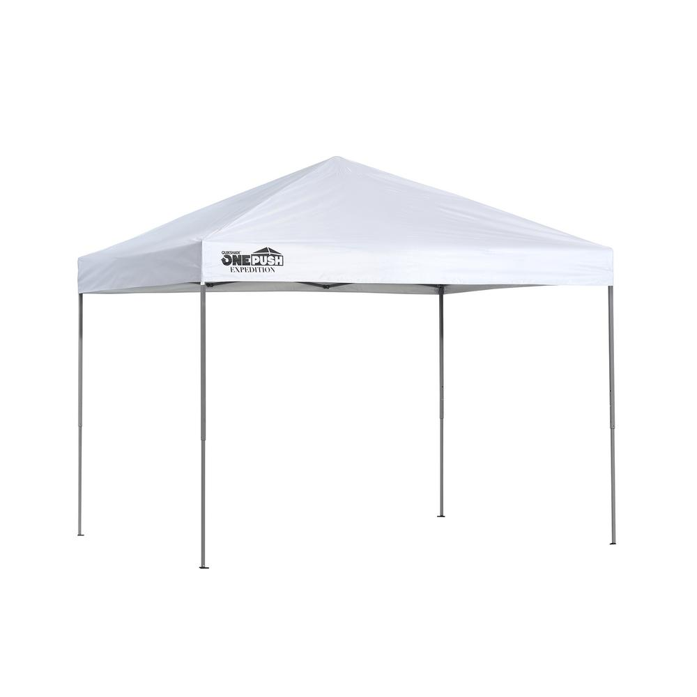 8 ft. x 10 ft. White Straight Leg Canopy