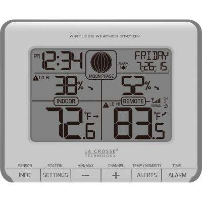 Wireless Weather Station with Temperature Alerts