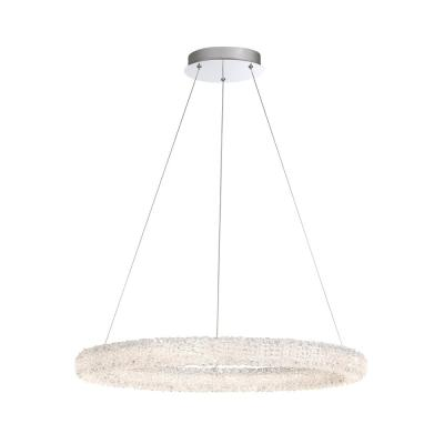 Sassi 36-Watt Chrome Integrated LED Chandelier