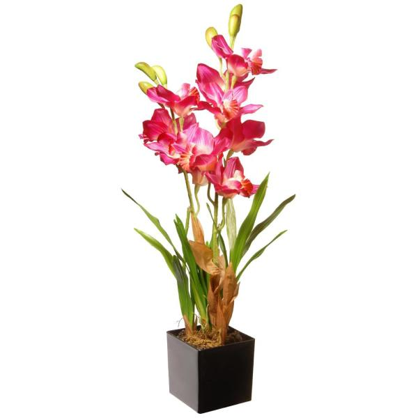 25 in. Purple/Pink Orchid Flowers