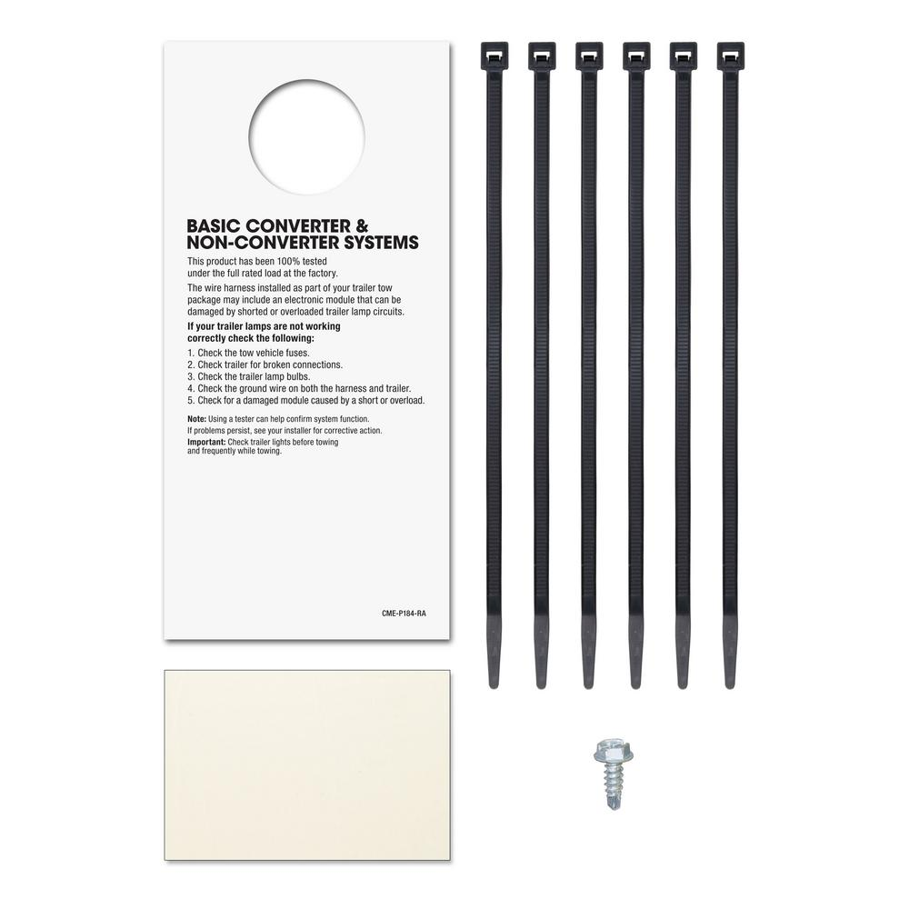 CURT Custom Vehicle-Trailer Wiring Harness, 7-Way RV Blade, Select Blazer,  XT5, XT6, Acadia, OEM Tow Package Required-56326 - The Home DepotThe Home Depot